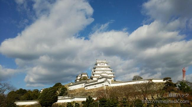【姫路城へアクセス】駅から徒歩で行く方法~入場料まで