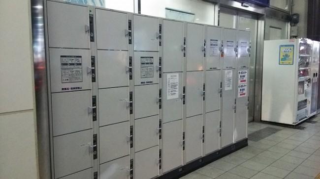 姫路駅周辺のコインロッカー1
