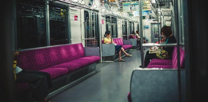 JR姫路駅の最終電車(神戸方面)