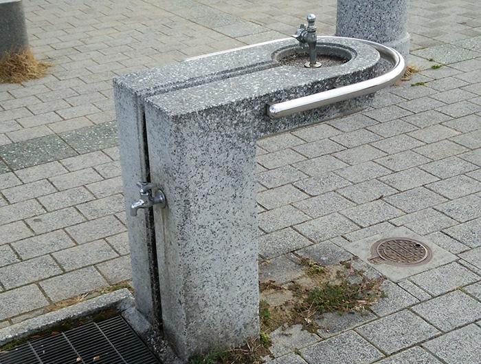 高浜総合公園の給水所の画像