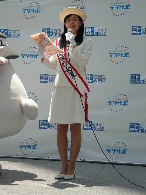 姫路お城の女王