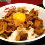 紅宝石姫路ランチセットの『肉飯』が予想以上に美味しい