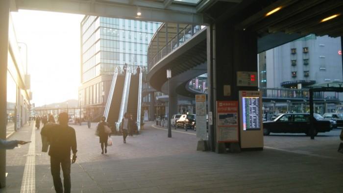 姫路駅周辺のタクシー乗り場