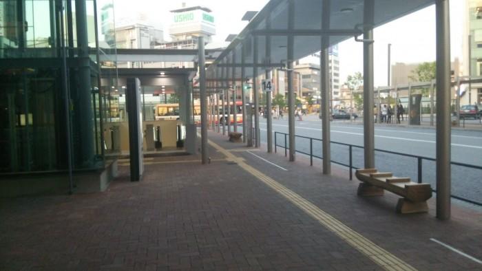 姫路セントラルパーク行きのバス