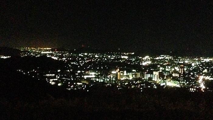 広峰山の夜景