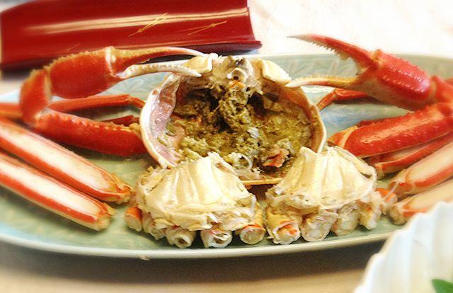 城崎のカニ「カニ味噌」