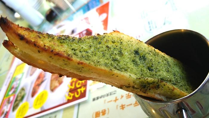 モッチモパスタのパン