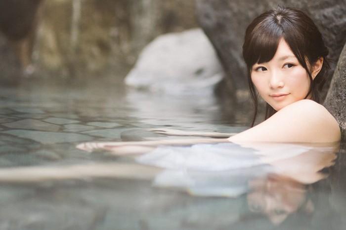温泉「女湯」露天風呂の画像
